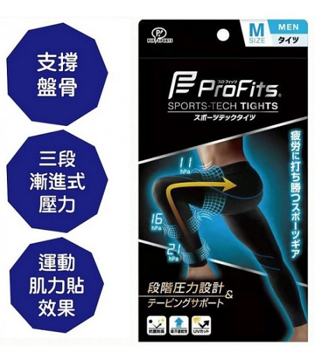 Profits日本專業運動壓力襪(男士)   跑步戶外遠足適用