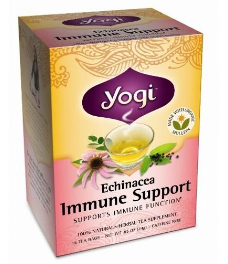 Yogi 紫錐菊支持免疫力100%天然草本茶