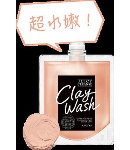 Utena - Juice Cleanse 毛孔清潔洗顏泥 (草莓) 110g